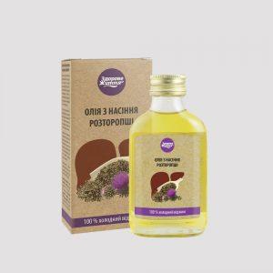Олія з насіння розторопші ЗДОРОВЕ ЖИТТЯ rodynna.com фото 1