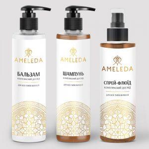 Набір для волосся «Комплексний догляд» AMELEDA фото 1