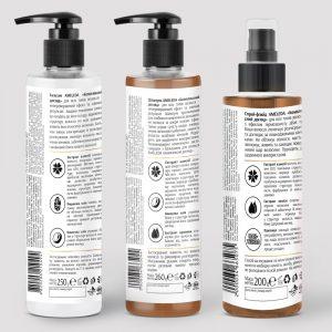 Набір для волосся «Комплексний догляд» AMELEDA фото 2